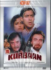 KURBAAN - ORIGINAL BOLLYWOOD DVD - Salman Khan, Sunil Dutt, Ayesha Julka, Kabir