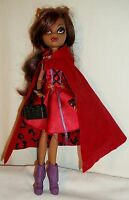 MONSTER HIGH SCARILY EVER AFTER LITTLE DEAD RIDING WOLF DOLL