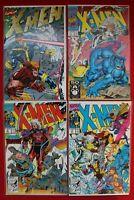 X-Men Vol. 2 Issues 1-3 Marvel Comics Lot Jim Lee Magneto Gatefold Cover NM 1991