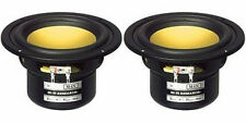 "NEW (2) 4"" Woofer Speakers.MidRange Shielded Driver.8 ohm.Four inch MTM.PAIR.4in"