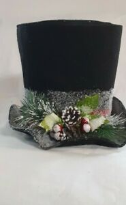 Tree Topper Hat Modern. Southern. Home.  Cozy Christmas/ Belk