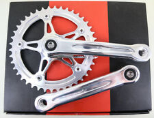 "FSA Gimondi Single Speed Square Taper Track Fixie Crankset 3/32"" 42T 165mm NEW"