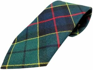 Gents Pure Wool Foresyth Tartan Tie - MADE IN SCOTLAND