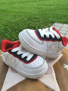 Nike Air Force 1 LV8 Red/White/Blue Toddler 6C