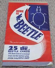 Mr. Beetle - Vintage 1930's Beetle Drive Party Game Cards - UPL