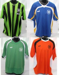 Clothing Lot Adult T Shirts 4 Pcs Large AYSO American Youth Soccer Coach Jerseys
