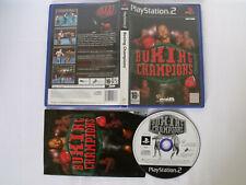 Jeu PS2 - Boxing Champions - FR complet