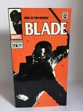 "Marvel Comics Medicom Real heroes 12"" Blade the Vampire Hunter toy figure RARE"