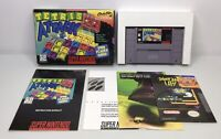 Super Nintendo SNES Tetris Attack Complete in Box CIB *Authentic/Cleaned/Tested*