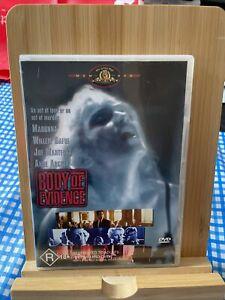 Body Of Evidence Rare Region 4 DVD - Madonna Willem Dafoe Movie