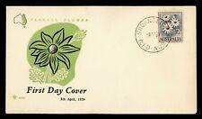 1959 AUSTRALIA FDC FLANNEL FLOWER ROYAL CACHET