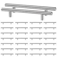 "30 Pack 8"" Kitchen Cabinet Door Handle T Bar Cupboard Drawer Hardware Pull Knobs"