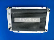 Full Aluminum Radiator for Ford Mustang 79-93 3 Row Auto 1990 1991 1992 1993