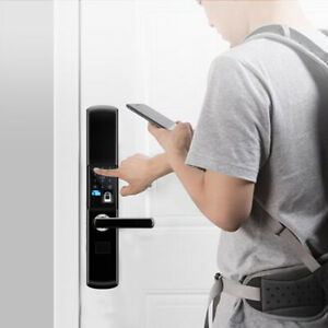 Fingerabdruck Türschloss Elektronisches Smart Fingerprint Lock Entry-Karte DHL