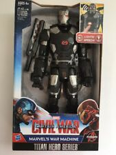 WAR MACHINE Marvel LIGHTS & SOUNDS ACTION FIGURE CAPTAIN AMERICA: CIVIL WAR