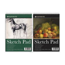A3 Artists Easynote Sketch Pad - Quality Strong Paper 20 Pages Drawing Spiral