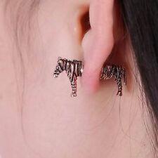 1pcs zebra earring,3D zebra shaped earring,horse shape ear stud,CUTE ear stud