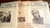 SPORTS Police Magazin 1948 - Année Komplette 12 Zahlen