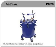 Paint Tank 20lt Hand Mixing with Gauges & Adjust Velve Only $750.00 Pick Up