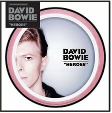 """David Bowie """"heroes"""" limited Picture Vinyl Single 7"""" NEU 2017"""