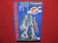 Macross Storm Attacker-Construction 1/8000 Bandai Model Kit Japan Robotech