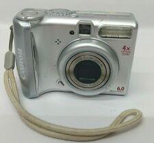 "Canon PowerShot A540 Digital Camera Point & Shoot 6.0Mp 2.5""4x Oz 4x Dz Silver"