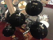 "Paiste Colorsound 900 Black Cymbal Pack 20"", 19"", 14"", with FREE 17"""