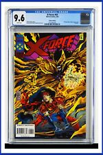 X-Force #43 CGC Graded 9.6 Marvel February 1995 Deluxe Edition Comic Book