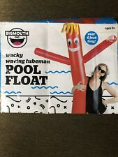 Wacky Waving Tubeman Pool Float Bigmouth Inc. Inflatable Swimming Noodle