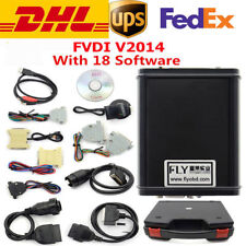 FVDI Full Version Including 18 Software FVDI ABRITES Commander Diagnostic Tool