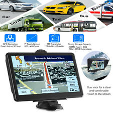 7 inch Car GPS Navigator Truck 8GB ROM Navigation Device Free Map Touch Screen