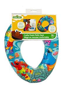 Sesame Street Best Pals Round Soft Little Child's Toilet Seat Training Potty