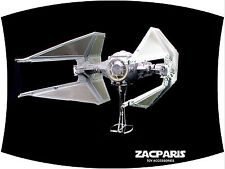Display stand for Vintage Star Wars Tie Interceptor - Clear Acrylic Nice!