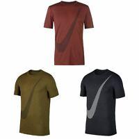 Nike Breathe T-Shirt Mens Top Tee Shirt