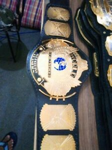 WWF Classic Gold Winged Eagle Championship Belt Replica