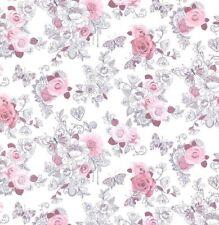 Papel Pintado Rasch - portaflio Rosa Corazones & mariposa - Niños/Habitación