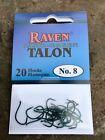 Raven Talon Hooks, Camo Green , One 20 Pack, Size # 8