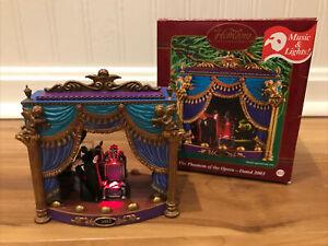 Phantom of the Opera 2003 Carlton Heirloom Music Christmas Ornament