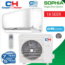 Sophia 30,000 BTU Mini split with heat pump 18 SEER