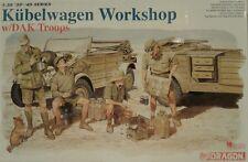 Dragon models 1/35 scale kit 6338, Kubelwagen Workshop