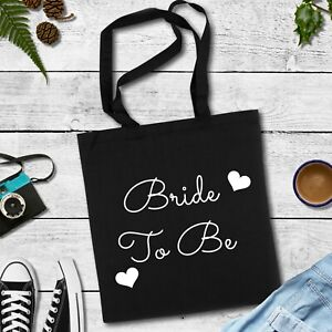 Bride To Be Tote Bag Hen Party Gift Engagemnt Present Bag for life