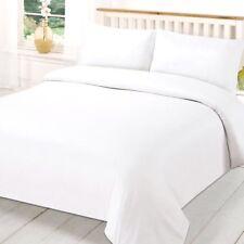 """Teñida unicolor Súper King Size Edredón de blanco con dos fundas de almohada 20"""" X 36"""""""