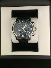 BX022 Philip Watch Chrono 150anniversary StainlessSteel Men's Watch BlackEdition
