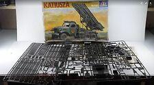 ITALERI KATIUSZA Military Truck Plastic Model