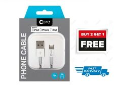 Core Genuine Apple iPhone 6 7 8+ X XS iPad Lightning USB Data Charger Lead Cable
