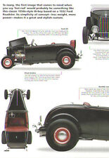 1932 Ford Highboy Roadster Hot Rod Article - Must See !!