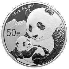 China - 50 Yuan 2019 - Panda - 150 Gramm Silber PP - Im Etui