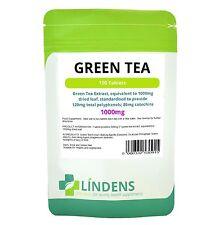 Estratto di Tè Verde 1000mg 100 Capsule Bruciagrassi Pillole perdita di peso supplemento