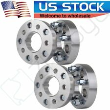 """4Pcs 5x4.5 to 5x5 1.25"""" Adapters 1/2"""" Wheel Spacers For 1987-2006 Jeep Wrangler"""