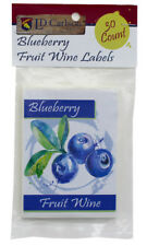 Blueberry Fruit Wine Labels